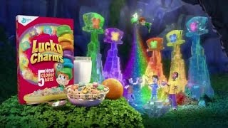TV Commercial - Lucky Charms Marshmallow Discovery - 5 New Clover Hats - There Magically Delicious