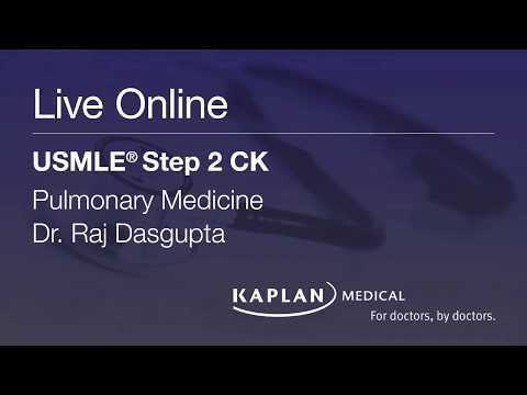 Step 2 CK Live Online: Pulmonary Medicine