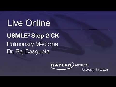 Step 2 CK Live Online: Pulmonary Medicine