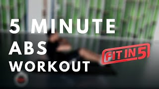Fit Freaks - Fit In 5 Abs workout routine