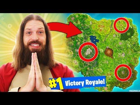 *JESUS* HELPS ME WIN Fortnite Battle Royale