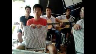 Tam biet nhe guitar cover-Lee Việt ft PHương bệnh,Dat ta,MoonJ,Tôi là Chym