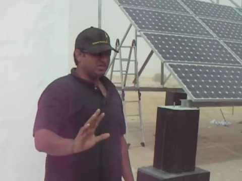 Du BTS Solar   UAE   Site installation  by Noor Power. Salim Mastan