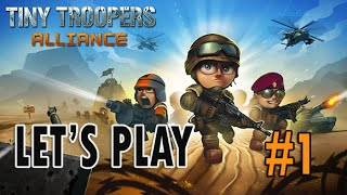 Tiny Troopers Alliance - Part #1 The NEW Clash of Clans? (Combat Strategy iOS)