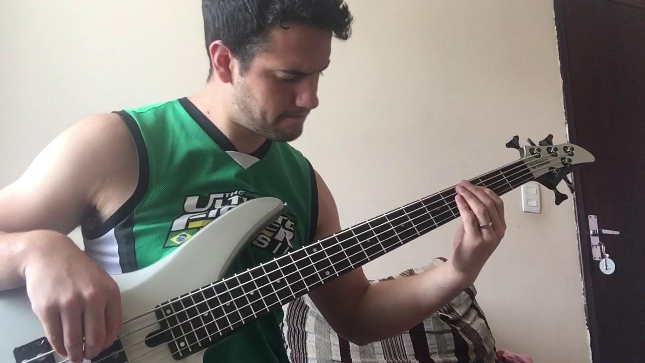 O nosso general - Paxtorzao ao vivo (bass cover) Rodrigo Leão