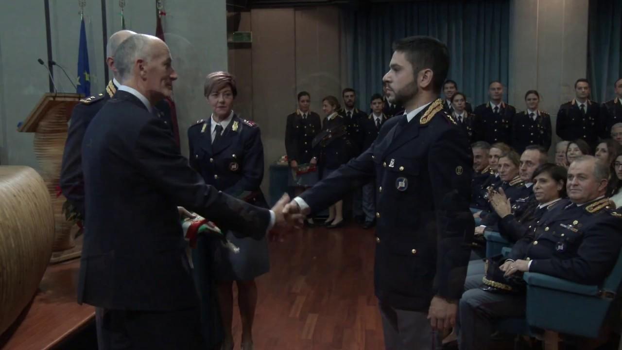 La cerimonia di chiusura del 106° corso per commissari