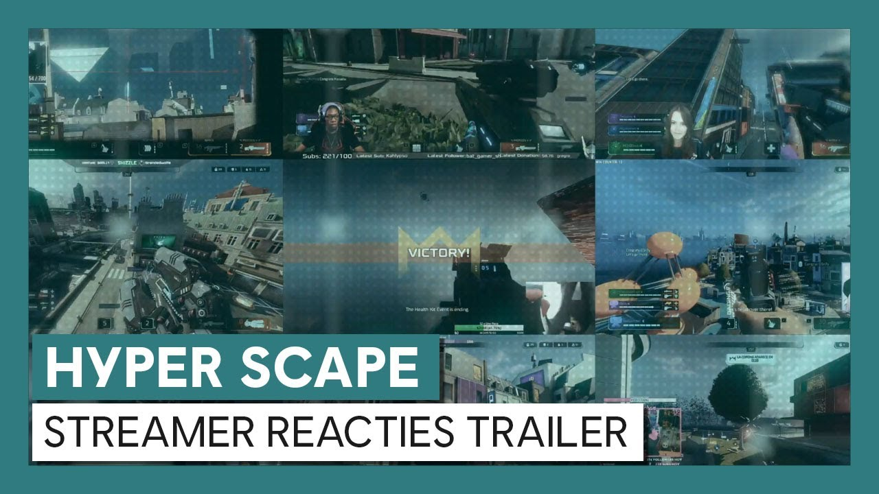Hyper Scape: Streamer Reacties Trailer