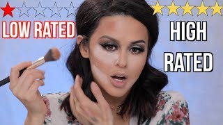 TESTING LOW RATED VS HIGH RATED SEPHORA MAKEUP!