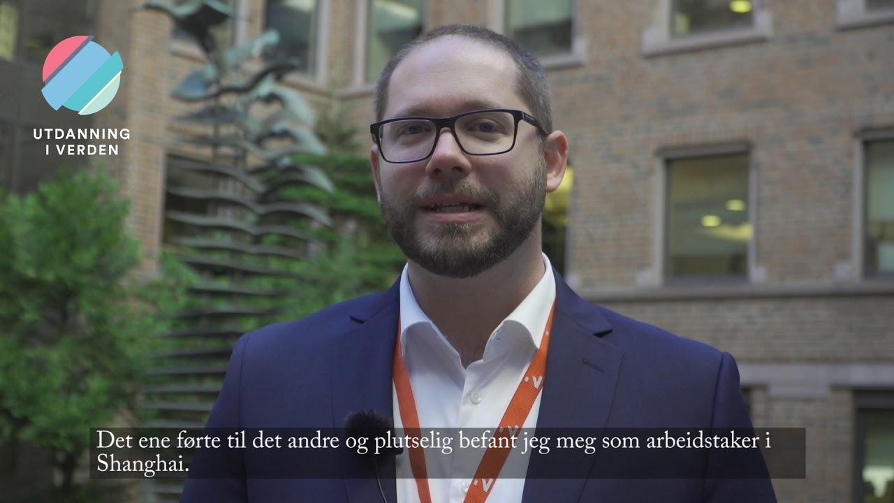 Utdanning i verden - Innovasjon Norge i Shanghai