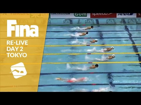 Re-Live | Day 2 - FINA/airweave Swimming World Cup 2016 #8 Tokyo