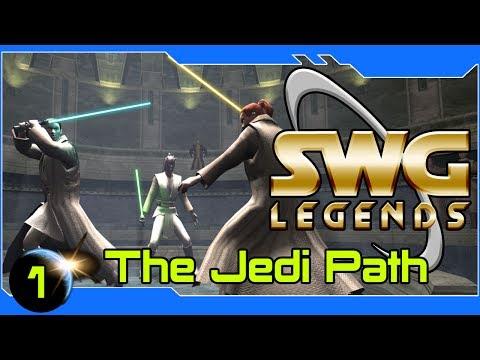SWG Legends – The Jedi Path – Star Wars Galaxies Jedi Gameplay – Part 1
