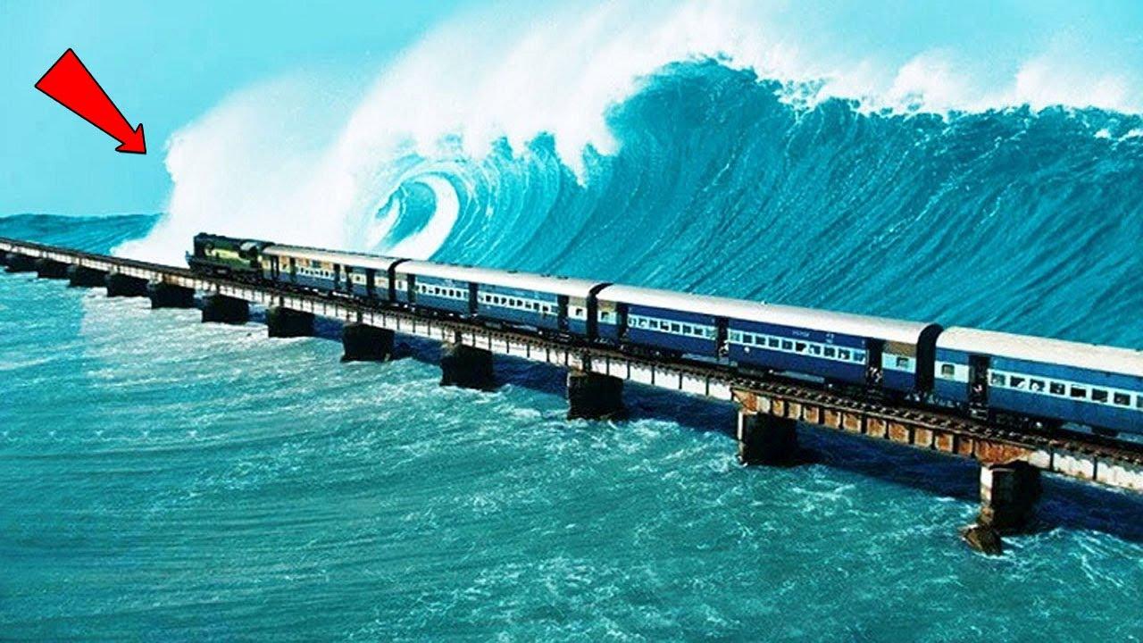 Dangerous Railway Tracks in the World || Yellow