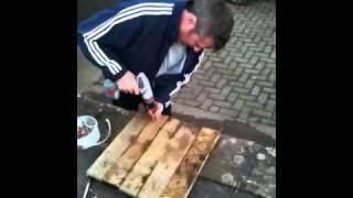 Jamie Makes A Bird Table!