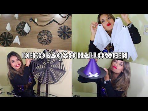 Faça você mesmo: Decoração de Halloween: Simples, Barata e Linda!