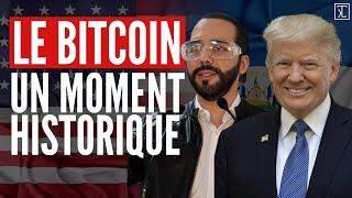 Bitcoin  moment historique + Donald Trump la mise en garde