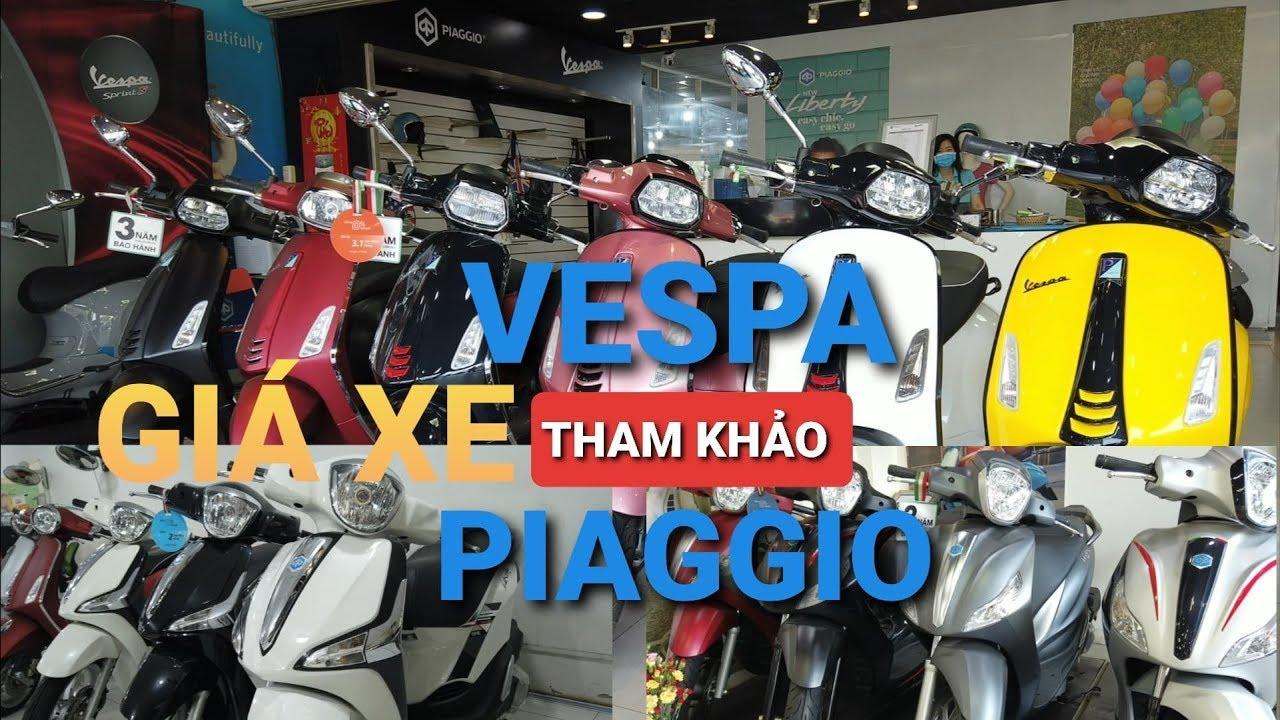 Giá xe Piaggio Liberty / Medley - Giá xe Vespa Sprint | Lx | Primavera