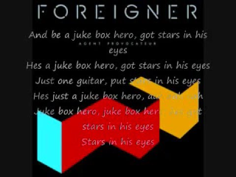 JukeBox Hero - Foreginer