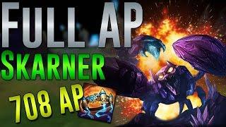 FULL AP Skarner Protobelt 708 AP ¤†¤ League of Legends ¤†¤