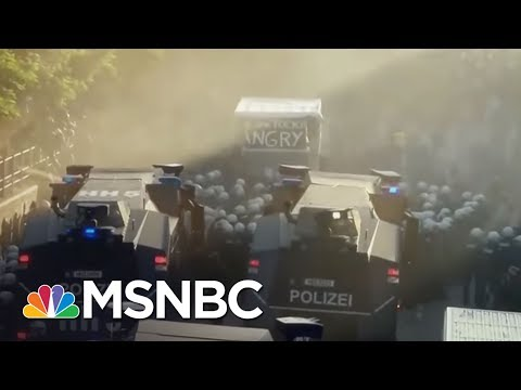 Water Cannons, Smoke Bombs Used As G20 Protests Intensify | MSNBC