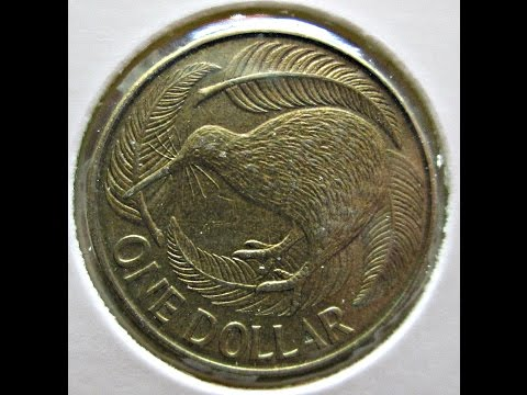 New Zealand, 1 Dollar, 1987
