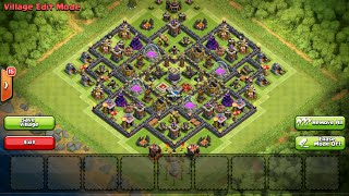 Clash of Clans - Great Town Hall 9 Farming Base Speed Build