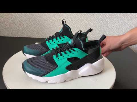 Nike Huarache Black White Mint Woman