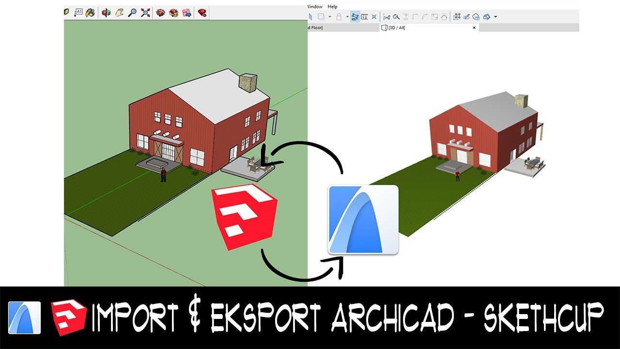 Tutorial archicad 22 3dcutway (bahasa indonesia) youtube.