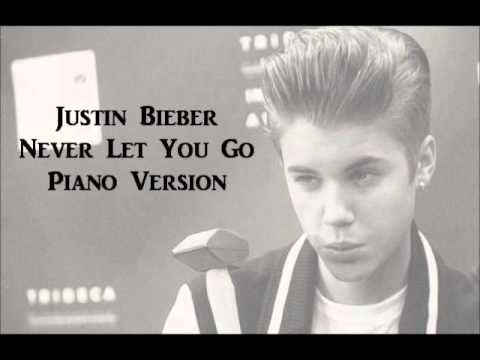 Justin Bieber-Never Let You Go {Piano Version}