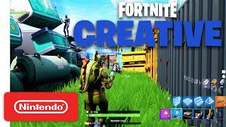 Fortnite Creative - Announcement Trailer - Nintendo Switch