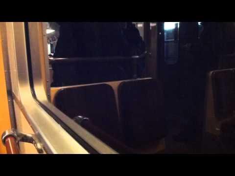 Stockholm Subway C15 train ride  Red line 13 Ropsten Zinkensdamm
