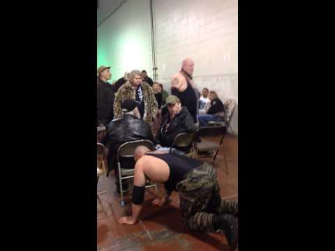 Dog Collar Match Tim Jernigan vs. Lee Byford