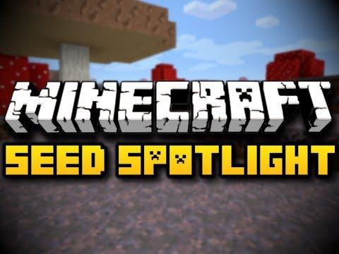 Minecraft Seed Spotlight #29 - VAST MUSHROOM BIOME! (HD)