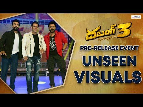 Dabangg 3 Pre Release Unseen Visuals | Salman Khan | Ram Charan | Kiccha Sudeep | Venkatesh
