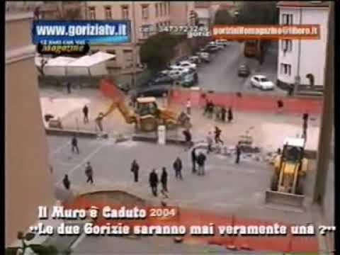 2004 cadeva l'ultimo muro  Gorizia IT e Nova Gorica SLO 12 11 09 x goriziatv copyright