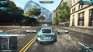 Need For Speed Most Wanted 2012 Jaguar XKR Gameplay