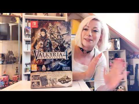 unboxing---valkyria-chronicles-4---memoirs-from-battle-premium-edition-(switch)