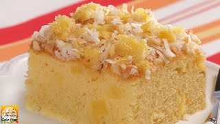 Tropical Sunshine Cake