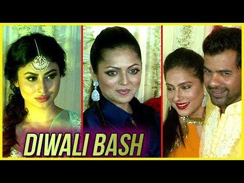 Shabir Ahuwalia, Mouni Roy, Dhrashti Dhami | Ekta Kapoor's Diwali Bash | UNCUT