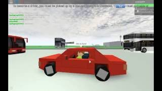 Bus game on Roblox!!!