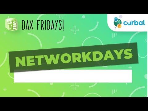 DAX Fridays! #47: NETWORKDAYS