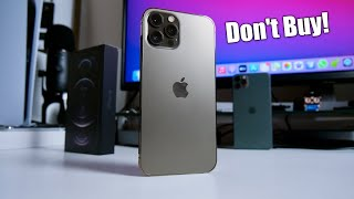 iPhone 12 Pro Max -  10 Reasons Why I Returned it!