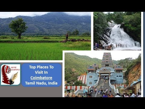 Places to visit in Coimbatore | One day picnic spot in Coimbatore | Tamil Nadu Tourism