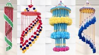 5 Amazing Pearl Chandelier || Jhumar Making || Handmade Home Decorating Ideas