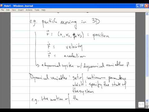 Classical Mechanics, Lecture 1: Introduction. Degrees of Freedom. Lagrangian Dynamics.