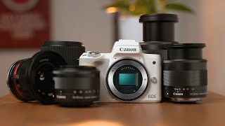 BEST Lenses for Canon M50 II (Ultimate Buyers Guide For Video and Photography)