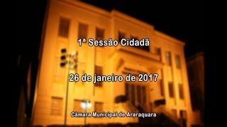 1ª Sessão Cidadã 26/01/2017