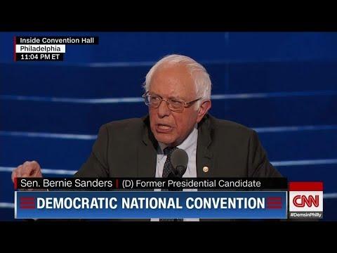 DNC Resolution Urges Bernie To Become A Democrat