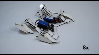 Self-folding robots