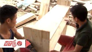 Hốt bạc từ nghề trang trí gỗ thông Pallet | VTC
