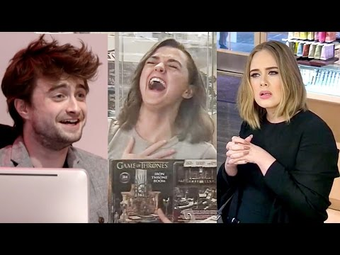 Top 9 Best Celebrity Hidden Camera Pranks! | Hollywire
